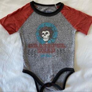 Rowdy Sprout John Lennon Lyrics Baby Bodysuit 6-12 Months